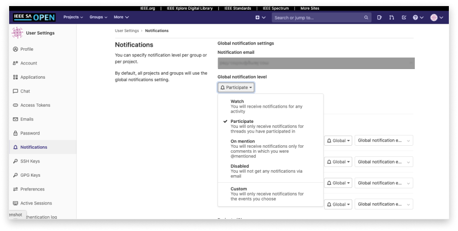 gitlab notifications 1