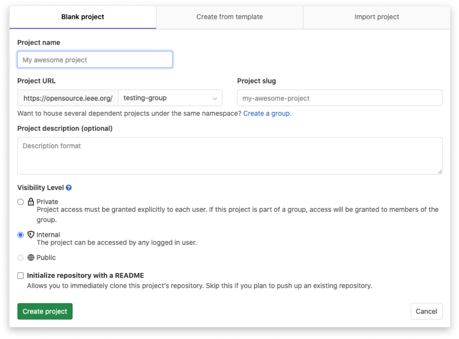 gitlab projects 2