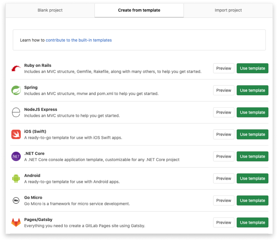 gitlab projects 3